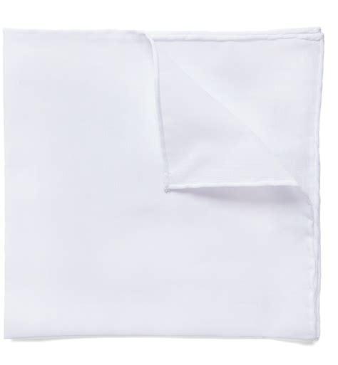 Square Cotton Italy white italian cotton linen pocket square by proper cloth