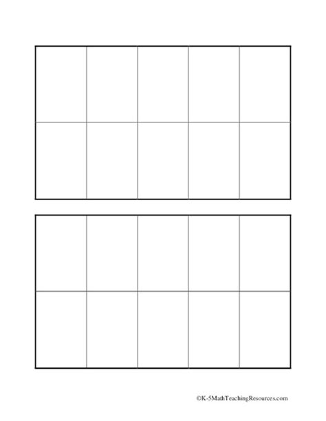 10 frame template printable all worksheets 187 ten frame worksheets printable