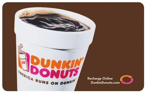 Dunkin Donuts Gift Cards Online - 5 dunkin donuts card only 100 points my coke rewards