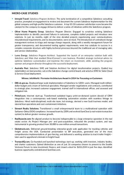 richard clarke cv resume january 2017