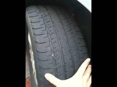 why do boat trailer tires wear on the inside tire wear problems causes and symptoms youtube