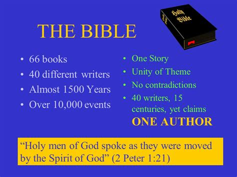 christianity the bible its central message ppt
