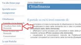 consulta pratica permesso di soggiorno cittadinanza italiana cittadinanza italiana portale