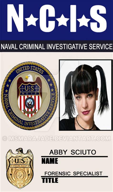 ncis id card template abby sciuto badge 09 by msmarajade on deviantart