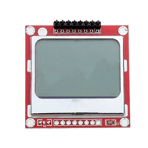 lcd nokia xl by mega tell nokia 5110 lcd module backlight for arduino white 84 x 48