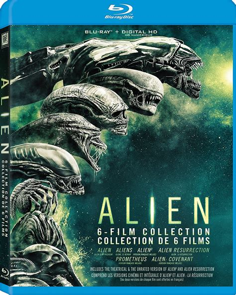film blu six alien 6 film collection blu ray edition orcasound