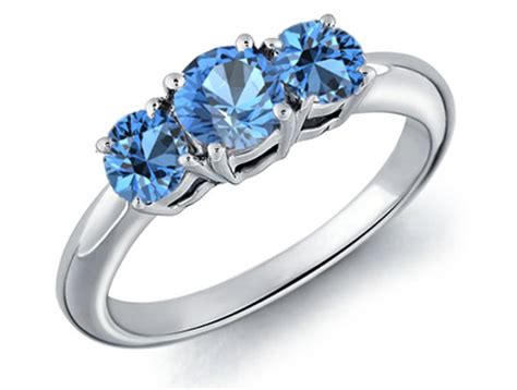 Blue Rings by Jewelry Sell Today