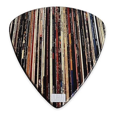 picking walls wood guitar pick wall art bed bath beyond