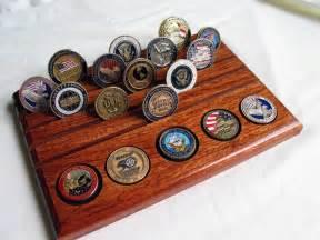 challenge coin geocoin display holder rack chief ideas