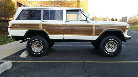 wagoneer jeep lifted 1988 amc jeep grand wagoneer lifted california truck with
