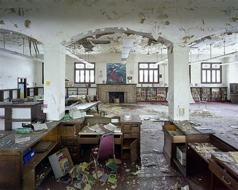 grandeur lost: the modern ruins of abandoned detroit