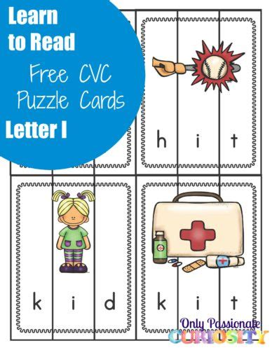 puzzle cards free cvc puzzle cards free homeschool deals