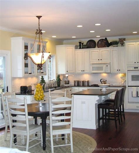 Kitchen White Cabinets Black Granite Kitchen With White Cabinets And Black Granite Countertops Sawdust 174