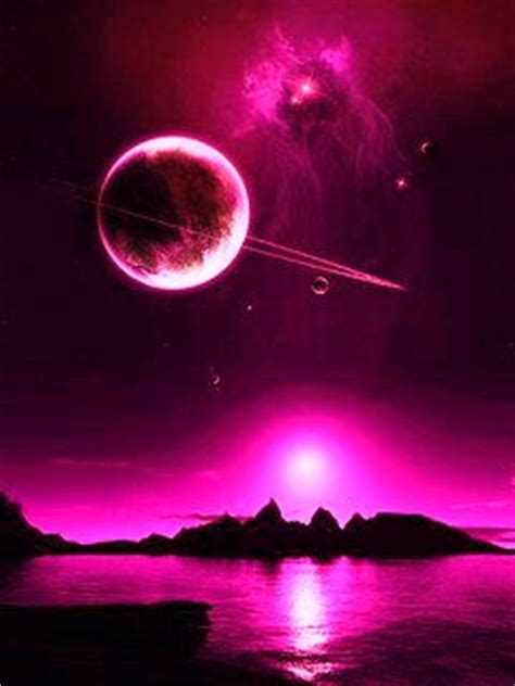 download pink space wallpaper 240x320 | wallpoper #74834