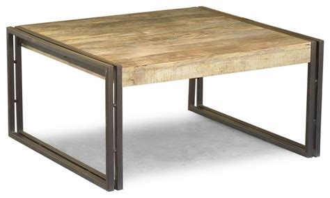 Reclaimed Wood Square Coffee Table Eclectic Coffee Square Coffee Table Reclaimed Wood