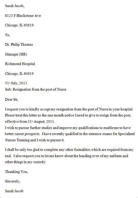 letter of resignation 2 weeks notice nurse parlo buenacocina co