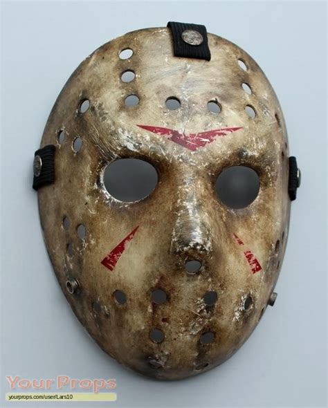 Mask 7 Day 1 friday the 13th friday the 13th mask replica by