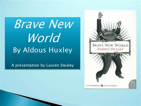 Themes In Brave New World By Aldous Huxley | brave new world
