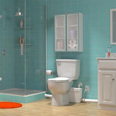 upflush toilets basement bathroom saniflo saniplus upflush toilet kit macerator toilet pump