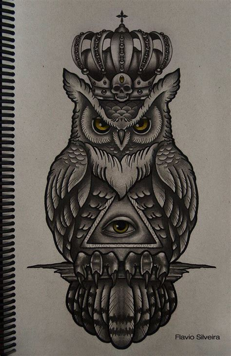 owl tattoo clock eyes 25 best ideas about illuminati tattoo on pinterest