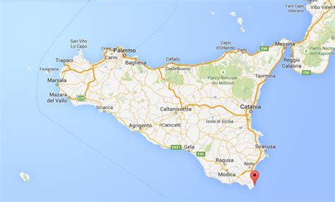 cartina porto posizione di porto palo di capo passero sulla mappa della