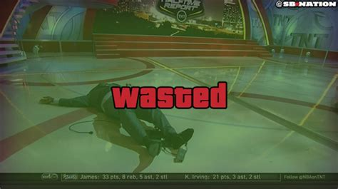 Wasted Meme - gta wasted shaquille o neal s epic fall know your meme