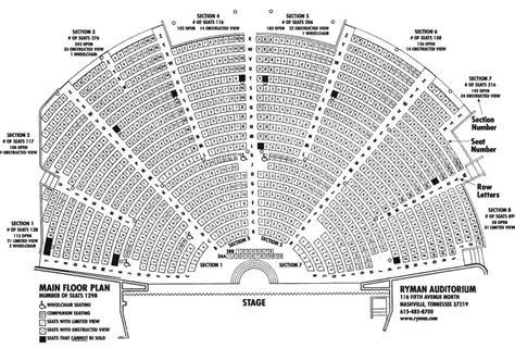 grand ole opry floor plan 2 tickets american idol live 7 17 sec main floor 7 rowh