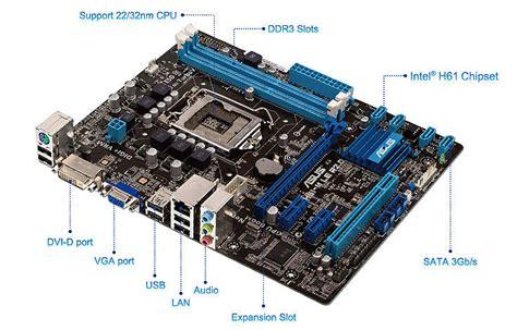 Asus H61m D By Ardy Komputer p8h61 m le r2 0 cartes m 232 res asus