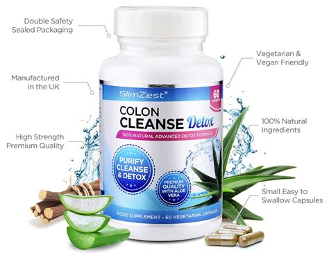 Aloe Vera Detox Benefits by Colon Cleanse Cleanse With Aloe Vera Slimzest