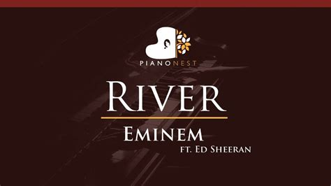eminem river mp3 eminem river ft ed sheeran higher key piano karaoke