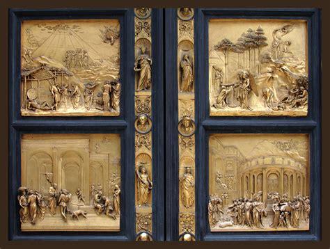 porte paradiso baptistry doors door by ghiberti florence baptistry