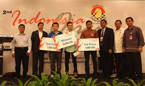 winz design indonesia stellar lineup in 3rd indonesia open chess chionship