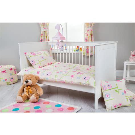 childrens cot size duvet cover pillowcase nursery baby