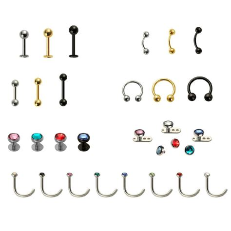 body piercing jewelry 316l surgical steel china