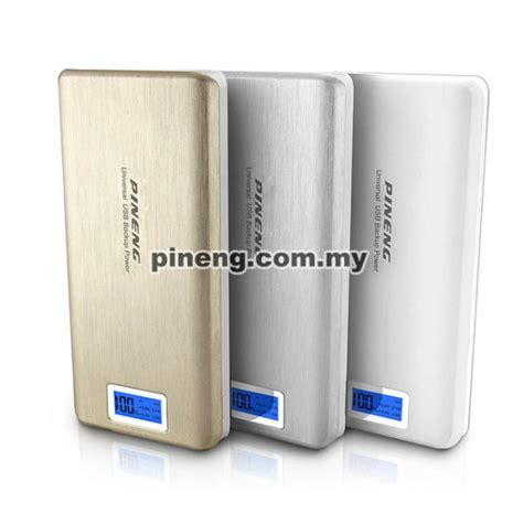 Power Bank Pineng 20000mah pineng pn 999 20000mah power bank white
