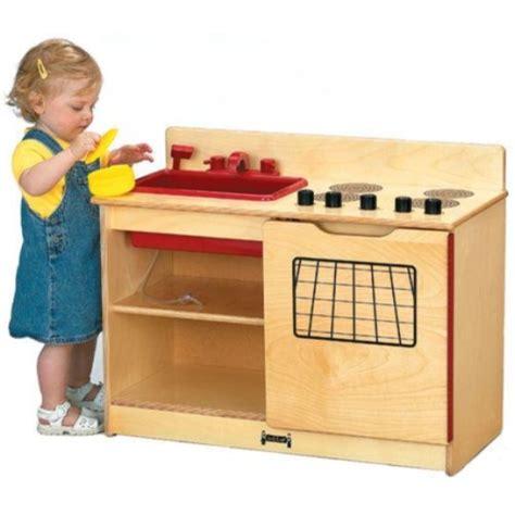 Toddler Play Kitchens by Jonti Craft 2 In 1 Kinder Kitchen Kitchen 0672jc Jonti