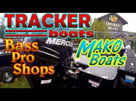 mako boats bass pro tracker mako boats at bass pro shops youtube