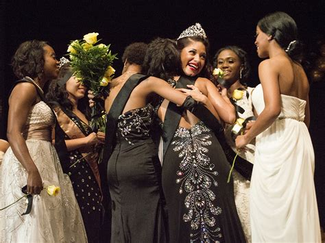 Miss Gold fraternity hosts pageant to showcase women s intelligence