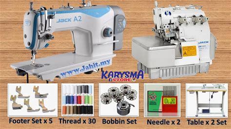 Harga Set Alat Jahit set niaga mesin jahit industri a2 autocut mesin