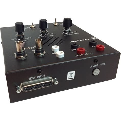 motorola rlnc radio test box installation mounting