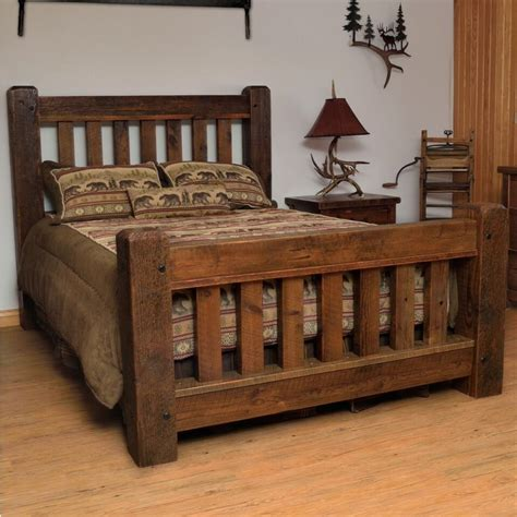 rustic bed frames sawmill timber frame bed bed frames bedrooms and