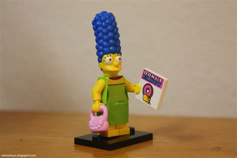 Promo Marge Lego Minifigures The Simpsons No 3 1st001 1st002 a year of toys 36 lego the simpsons minifigures marge