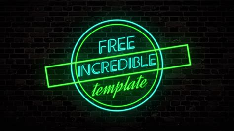 adobe after effect intro templates adobe after effects intro templates 2018 template neon