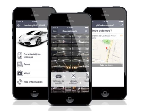 car application mobile app for car dealers and used cars sellers adiante