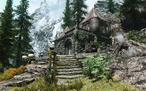 skyrim house mods house whitewatch at skyrim nexus mods and community
