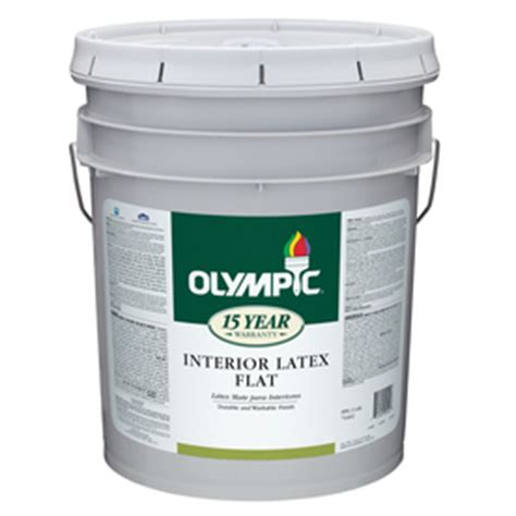 5 gallon ceiling paint shop olympic 5 gallon interior ceiling ceiling white