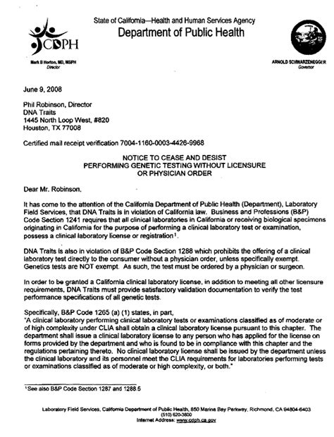 Demand Letter Harassment Cease And Desist