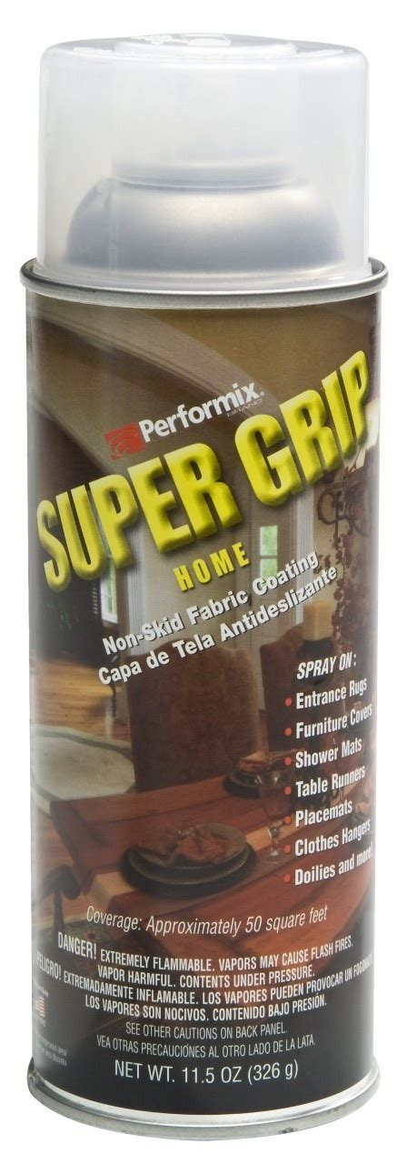 Spray On Rubber Coating For Rugs by Grip Non Skid Fabric Coating 11 5 Oz Spray Can