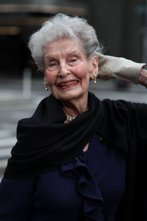 ruth is 100 years old and does pilates to keep fit i love 30 best older women fashion icons images on pinterest