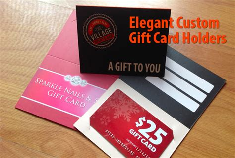 Gift Card Prices - custom gift card spa gift cards holder branding your image with packaging km creative